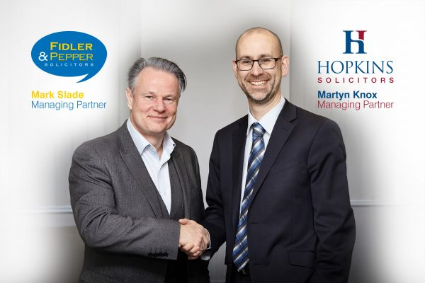 Hopkins Solicitors and Fidler and Pepper Business Deal